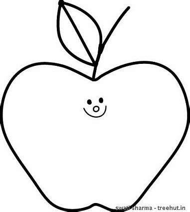 apples to color clipart best coloring apple clipart best