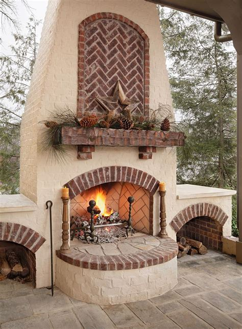 21 best brick fireplaces and fire pits images on pinterest