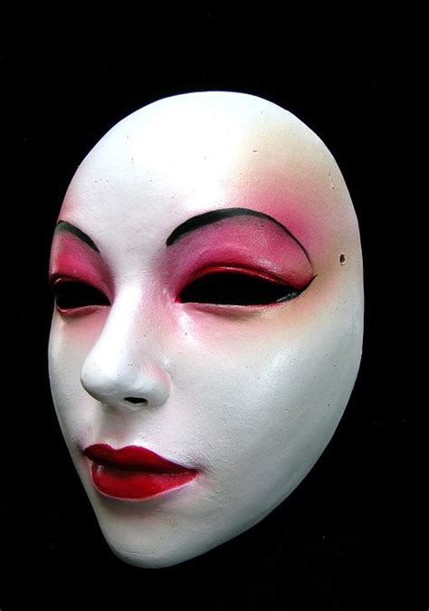 Geisha Mask mask geisha joanna mozdzen stage iv rubedo