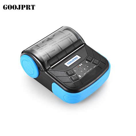 Mini Portable Bluetooth Thermal Receipt Printer 1 free shipping 3 quot 80mm mini bluetooth thermal receipt printer portable bluetooth printer support