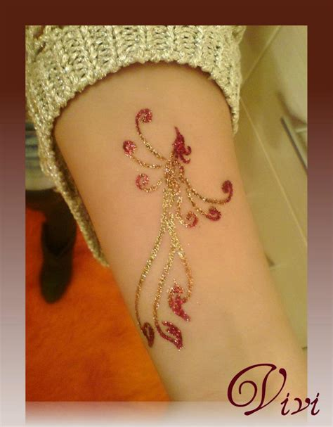 latest tattoo design glitter designs shimmery temporary tattoos