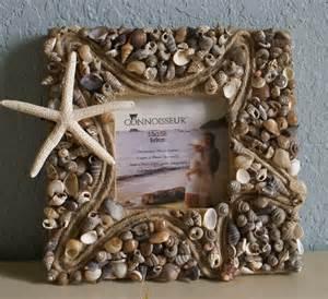 Seashell Home Decor Seashell Picture Frame Home Decor Coastal Frame Sea Shell