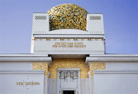 Building Your Own House by File Vienna Secession Building Exterior Historic Vienna