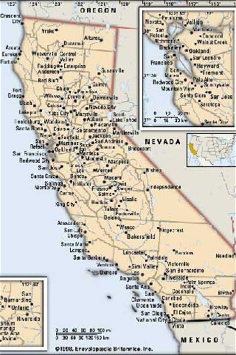 california map eeuu 201 cran publicitaire 233 lectronique de silicon valley