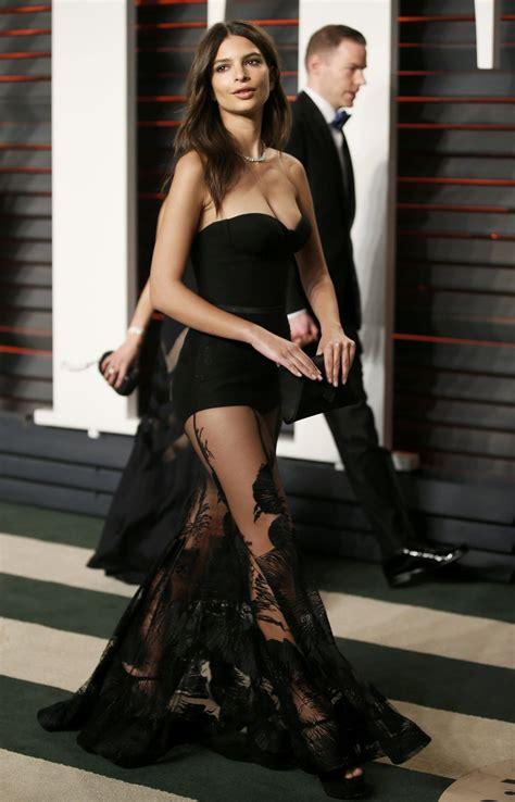 Emily Ratajkowski Vanity Fair Oscar 2016 Emily Ratajkowski Vanity Fair Oscar 2016 In