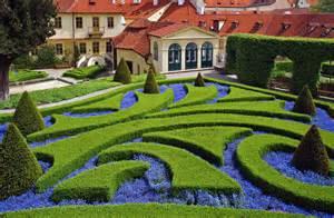 photo a formal garden in eastern europe garden variety