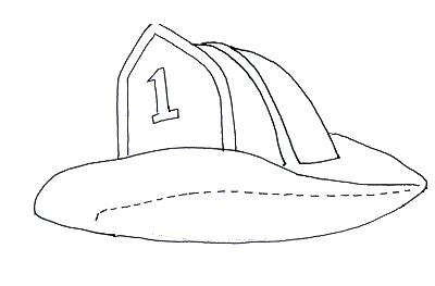 firefighter hat template preschool kindergarten printable hat templates fireman hat