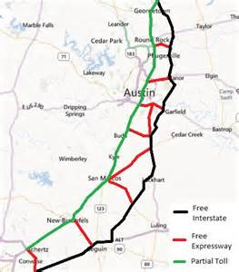 toll road 130 map don t most austinites oppose toll roads rock new