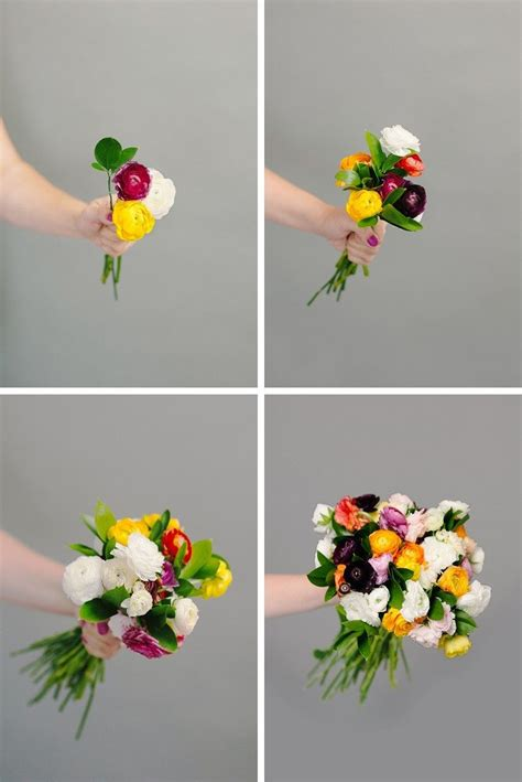 How To Make A Bouquet Of Roses With Paper - how to make a diy wedding bouquet a practical wedding