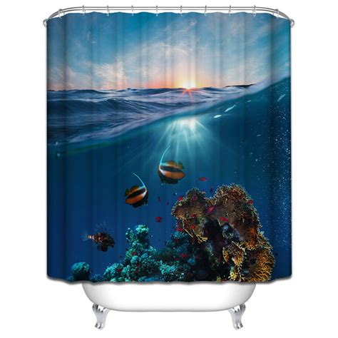 polyester shower curtain bathroom decor home decorations