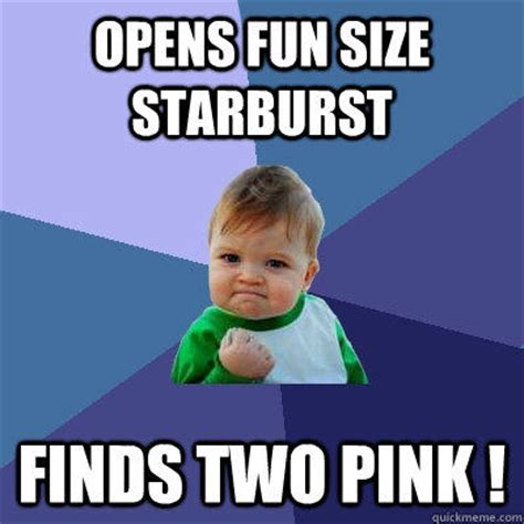 Starburst Meme - success kid memes quickmeme