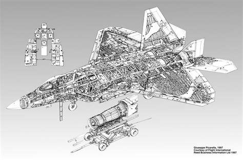 f 22 diagram f 35 aircraft engine cutaway f free engine image for