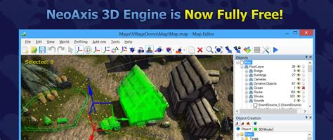 best free 3d engine neoaxis 3d engine is now fully free neoaxis 3d engine