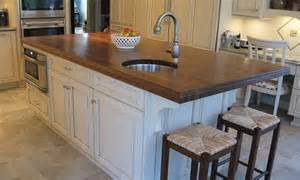 Walnut Kitchen Island by Walnut Kitchen Island Countertop And Bar With Sink