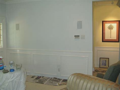wainscoting martha stewart and white walls on