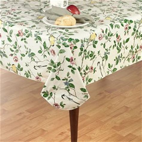 amazon plastic table cloths amazon com elrene home fashions vinyl tablecloth with