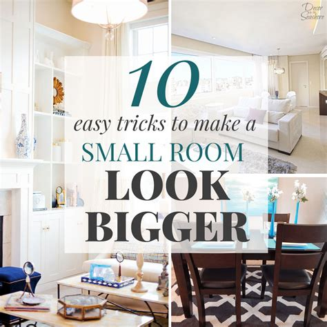 how to make your room look bigger how to make a small room look bigger decor by the seashore