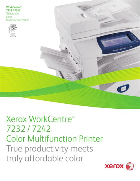 Request Letter For Xerox Machine Pdf Manual For Xerox Multifunction Printer Workcentre 7232