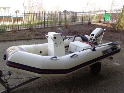 rubber boot met motor en stuur rubberboten watersport advertenties in noord holland