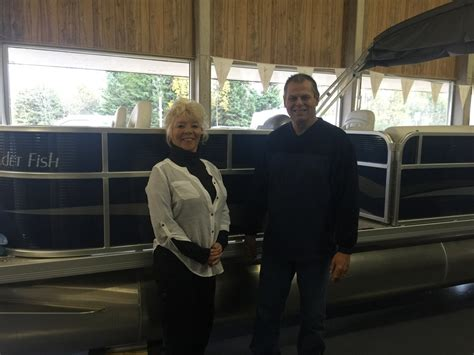 boat motor repair escanaba mi save thousands on weeres pontoons at richards boatworks