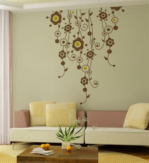 home decor floral wall art decor floral vines wall sticker by wall art decor