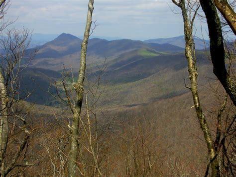 hiking in elk knob state park nc