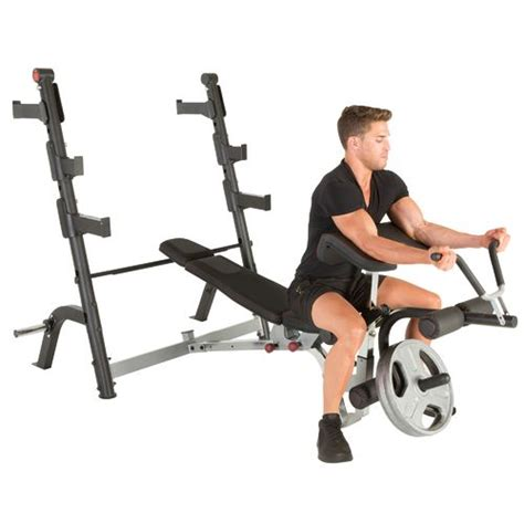 workout bench academy ironman triathlon x class olympic weight bench with