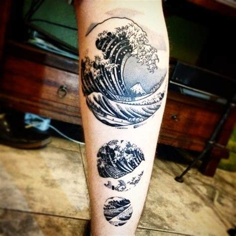 japanese waves tattoo japanese waves http tattoos ideas net japanese
