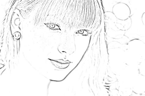 taylor swift coloring pages easy taylorswift free colouring pages