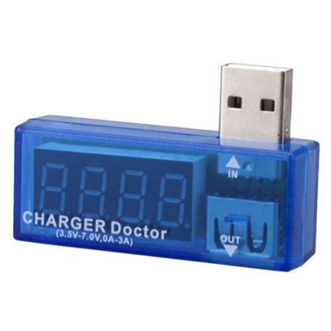Usb Doctor Charger Volt Er usb charger doctor voltage and current display usb meter