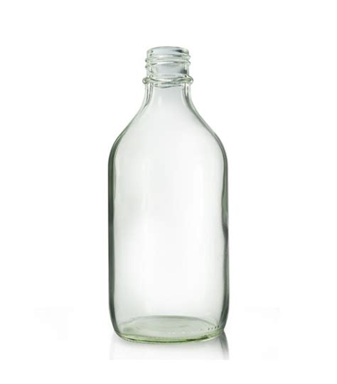 Glass Bottles 500ml clear glass winchester bottle cap