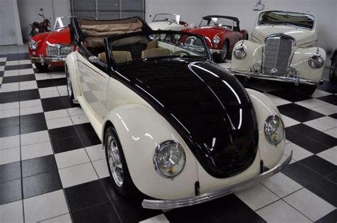 custom chopped suicide doors nicest vw bug  classic volkswagen