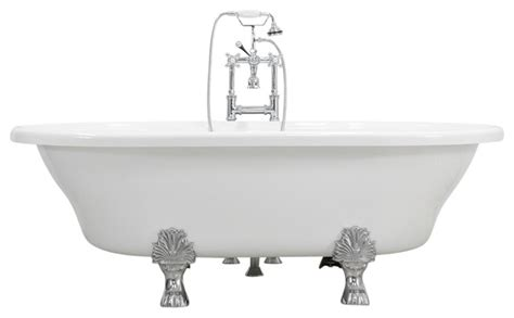 extra wide bathtubs francesca 73 quot extra wide acrylic white double ended