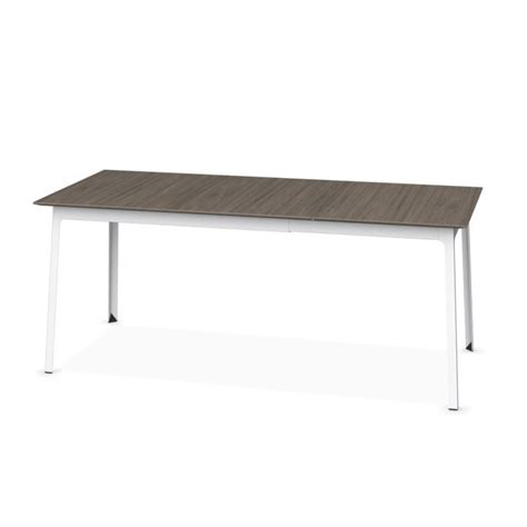 dot dining table calligaris dot extending dining table melamine deco nougat