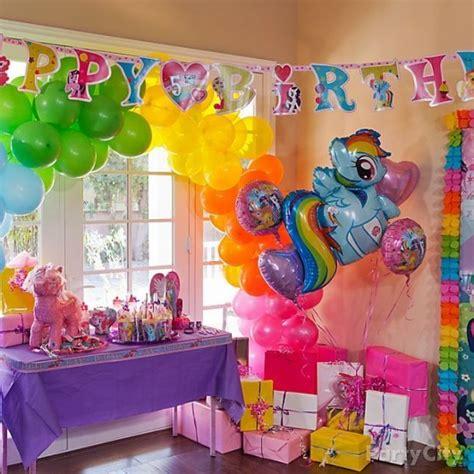 pony birthday crafts