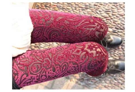 floral pattern lace tights pants lace leggings leggings tights lace lace tights