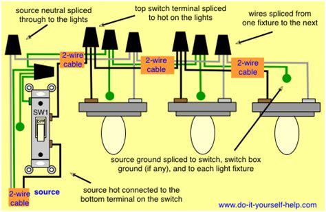 wiring 2 lightsin series wiring uncategorized free wiring diagrams