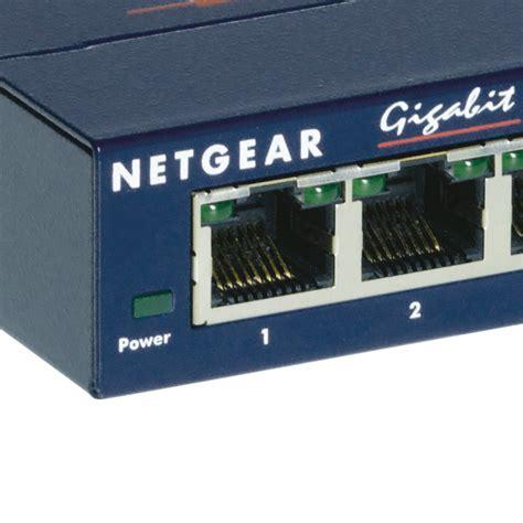 netgear prosafe 5 gigabit switch gs105 netgear gs105ge prosafe switch 5 portas gigabit