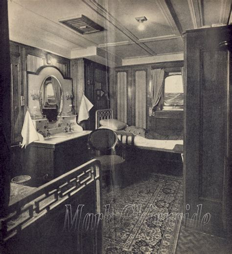 titanic 2nd class rooms chirnside s reception room olympic titanic britannic majestic second cabin a95 1931