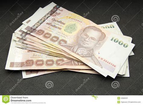 wechselkurs baht bangkok bank 1000 thai baht stock photo cartoondealer 43085526