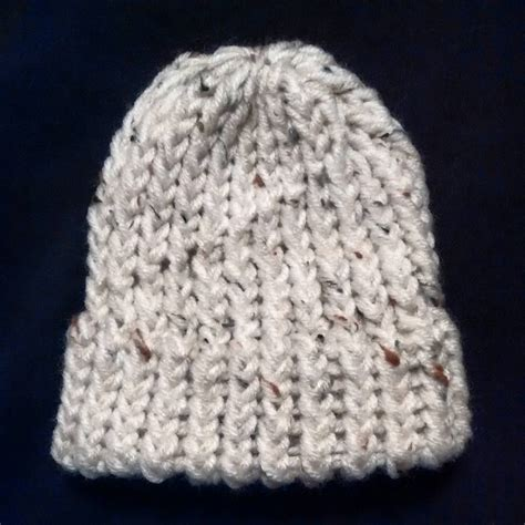 loom knit baby hat preemie newborn loom knit hat