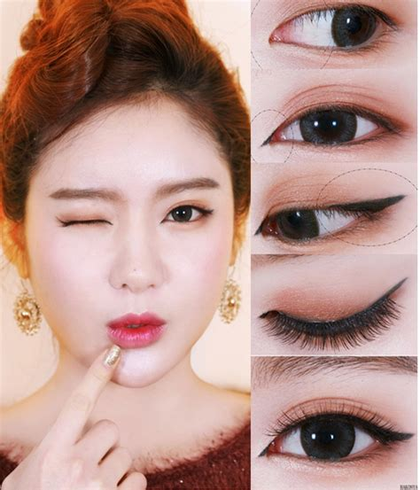 eyeliner tutorial asian eyes zibees com fashion guilt diy tips asian cat eye