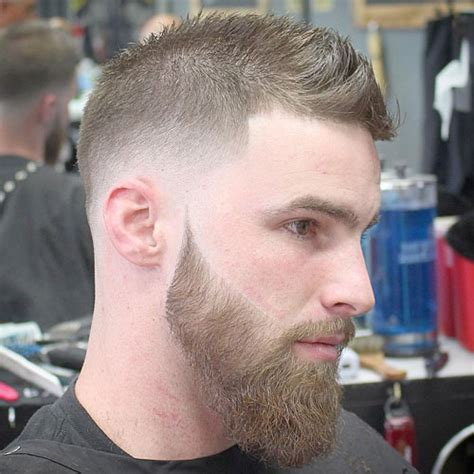 beard styles with fauxhawk hairstyles for balding men