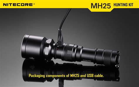 Nitecore Tactical Tailcap Switch 25 4mm For Mh25 Mh2c Mh40 Mh12 Ntc1 nitecore mh25 960 lumen rechargeable kit liteshop au