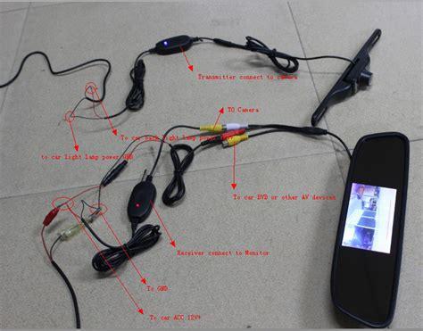 dhl 20pcs 4 3 car tft lcd monitor lustro wireless