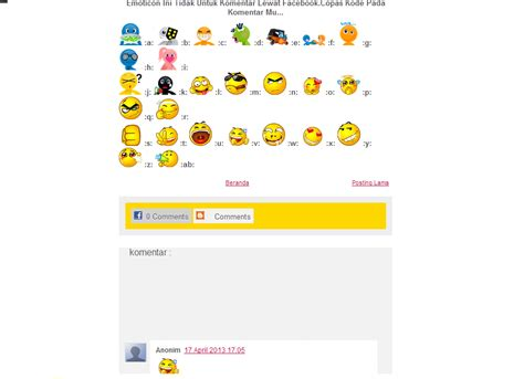 cara membuat emoticons twitter cara membuat emoticon di twitter images