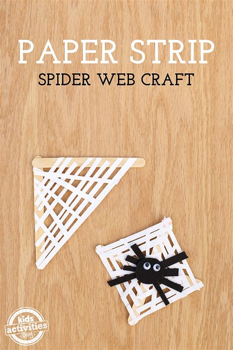 How To Make A Paper Spider - paper spider web craft