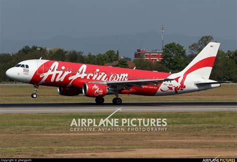 airasia thailand hs abl airasia thailand airbus a320 at chiang mai