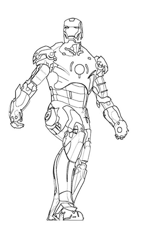 iron man heartbreaker coloring pages coloriage iron man 3 mark 42