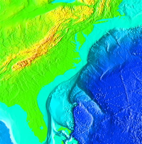 Oceanic Shelf by Virginia And The Outer Continental Shelf